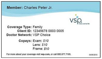 Vision Service Plan insurance